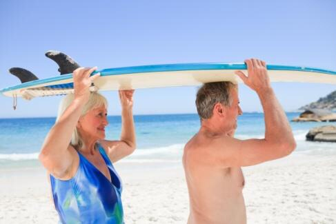 surfing retirees